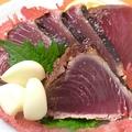 料理メニュー写真一本釣りかつを刺身