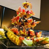 +10,000円で豪華なフルーツシャンパンタワー♪