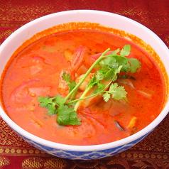 料理メニュー写真トムヤンクンスープ