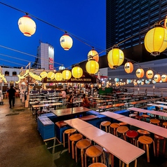 シュラスコ&BBQビアガーデン 天空テラス 新宿店の雰囲気1