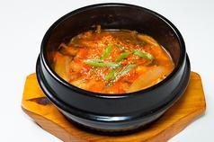 ユッケジャン麺(温・辛口)