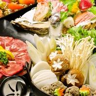 常連さんが何度も足を運ぶバリエーション豊富な料理を。
