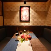 2~4名様用のテーブル個室☆ 2席限定のためお早目のご予約をお願いします。