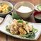 油淋鶏(ユーリンチー)定食