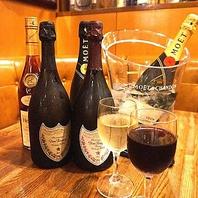 お誕生日の方に特典シャンパン1杯サービス