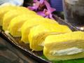 料理メニュー写真出汁巻き玉子(明太子とチーズ/クリームチーズ)