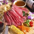 料理メニュー写真A4黒毛和牛ローストビーフ