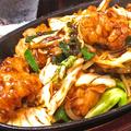 料理メニュー写真ぷりぷり和牛コロホルモン炒め(みそ・塩味)