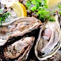 料理メニュー写真魚桜といったらまずはコレ!漁師さん直送厚岸産殻付き生牡蠣!魚桜は毎日がかき祭り~