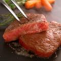 料理メニュー写真黒毛和牛の炙りステーキ