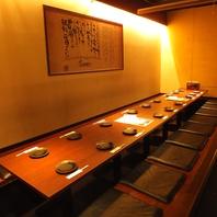 西梅田駅徒歩5分!お座敷は18名様迄ご利用可能です。
