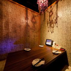 ◆4名様用完全個室◆デートや少人数の飲み会に是非♪テーブルオーダー式食べ放題コースをお楽しみください。おこもり感たっぷりのゆったりとした掘りごたつ個室で素敵な時間と美味しい料理をご堪能ください♪コスパ抜群のアラカルト料理も多数ご用意!全品ALL300円!!