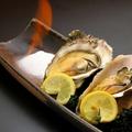 料理メニュー写真焼き牡蠣(宮城県石巻市雄勝産)