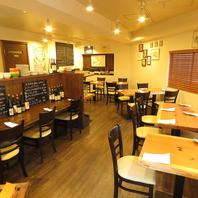 泉岳寺駅徒歩1分、カジュアルなイタリアンレストラン。