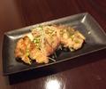 料理メニュー写真若鶏ももの塩焼きor柚子こしょう焼き