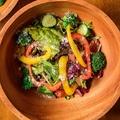 料理メニュー写真野菜たっぷりグリーンサラダ