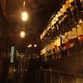 店内に入るとすぐに焼酎、梅酒などがお出迎え!飲んでみたい物を探してみるのも一興・・・