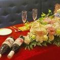 結婚式二次会に最適♪新郎新婦様用特別席をご準備致します。詳しくはスタッフまでお尋ねください![イタリアン/ワイン/肉/パスタ/ランチ/女子会/歓送迎会/飲み放題/宴会/誕生日/記念日/ピザ/新市街/熊本/ワンコイン]