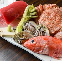 日本全国から旬の食材を毎日仕入れます。