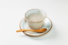 手づくり杏仁豆腐、手づくりコーヒーゼリー