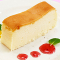 料理メニュー写真濃厚チーズケーキ