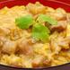 鶏肉の2箇所の部位を使用したふわとろ卵の特撰親子丼!