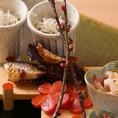【季節を愉しむコース料理】その季節にしか味わえない、旬の食材を使った旬を愉しむコース料理をどうぞ。