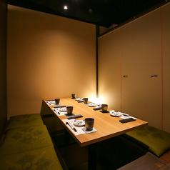少人数でのお食事会や、仲間内での飲み会に◎ゆっくりとお寛ぎいただきながら、お食事とご宴会をお楽しみください♪
