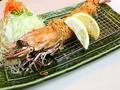 料理メニュー写真ジャンボ海老フライ定食 (1本)