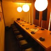 最大16名様まで可能のテーブル席もございます。