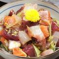 料理メニュー写真菊と海鮮漬け