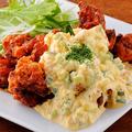 料理メニュー写真自家製タルタル!チキン南蛮