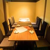 8名様個室席もご用意。合コン・コンパに最適です!