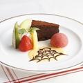 料理メニュー写真デザートプレート/ケーキ & ティーセット