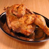魚炉米のオススメ!若鶏の半身焼き