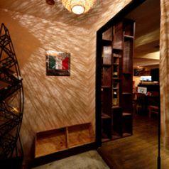 地下2Fにある隠れ家イタリアン!