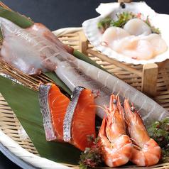 料理メニュー写真海鮮盛り合わせ