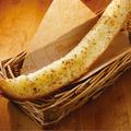 料理メニュー写真なが~いガーリックトースト