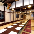 多彩な個室は最大50名様までご宴会でご利用頂けます。