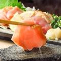 料理メニュー写真地鶏の刺身