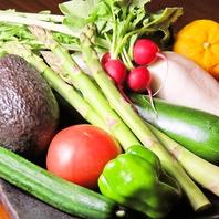 新鮮な信州産のお野菜を季節に合わせてふんだんに使用!
