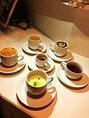 コーヒー、抹茶オレ、キャラメルマキアートなど本格カフェメニューも充実!