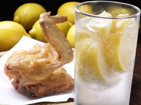 【予約必須!】元祖最強レモンサワー×ひな鶏素揚げが話題のお店【小岩 素揚げや】