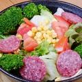 料理メニュー写真しらかわのグリーンサラダ