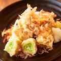 料理メニュー写真豚ネギ巻天ぷら