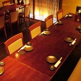 2~20名様用のテーブル席