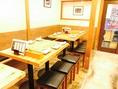 テーブルは繋げると最大20名様までご案内OK♪リーズナブルな飲み放題付きコースは4000円台から豊富にご用意しております♪新橋での女子会や各種ご宴会などにも大人気のお席です!ご予約はお早めに!