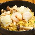 料理メニュー写真海鮮きのこXO醤炒飯