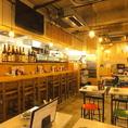 大阪下町のような雰囲気の店内。2次会や3次会の利用も人気です!【大塚/居酒屋/飲み放題/宴会/大人数/おすすめ/貸切/女子会/誕生日】