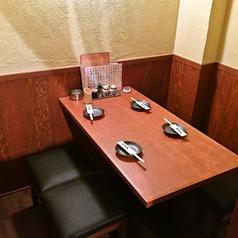【個室】2F★4名様までの完全個室になります。人気の個室のご予約はお早めに!